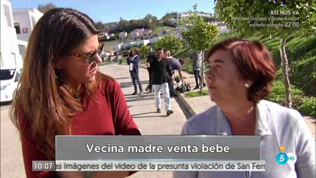 """Vecina de la madre: """"Había rumores de que les iba a dar el bebé"""""""