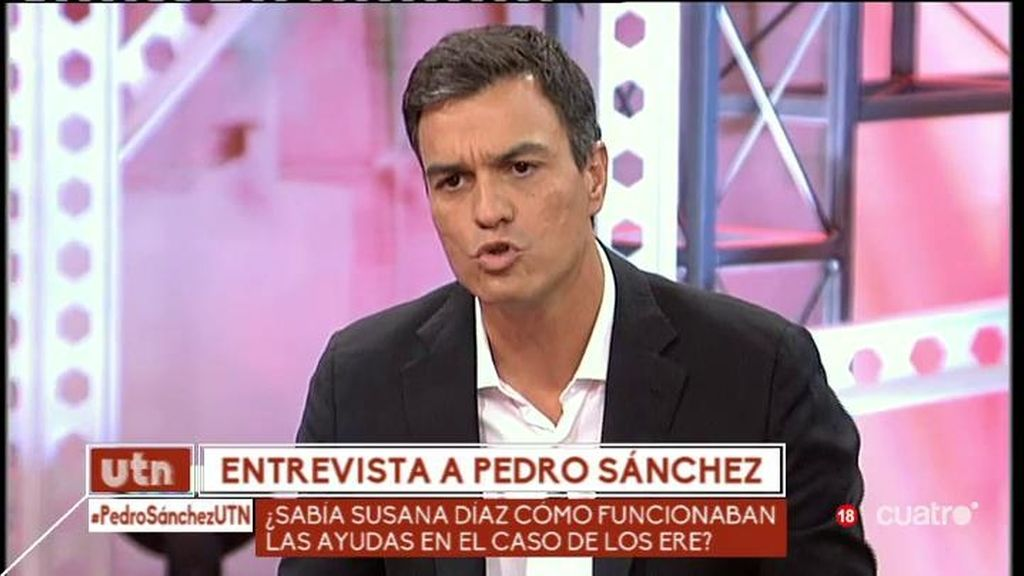 """Pedro Sánchez: """"En el PP se peleaban por una foto con Rato y ahora es el innombrable"""""""