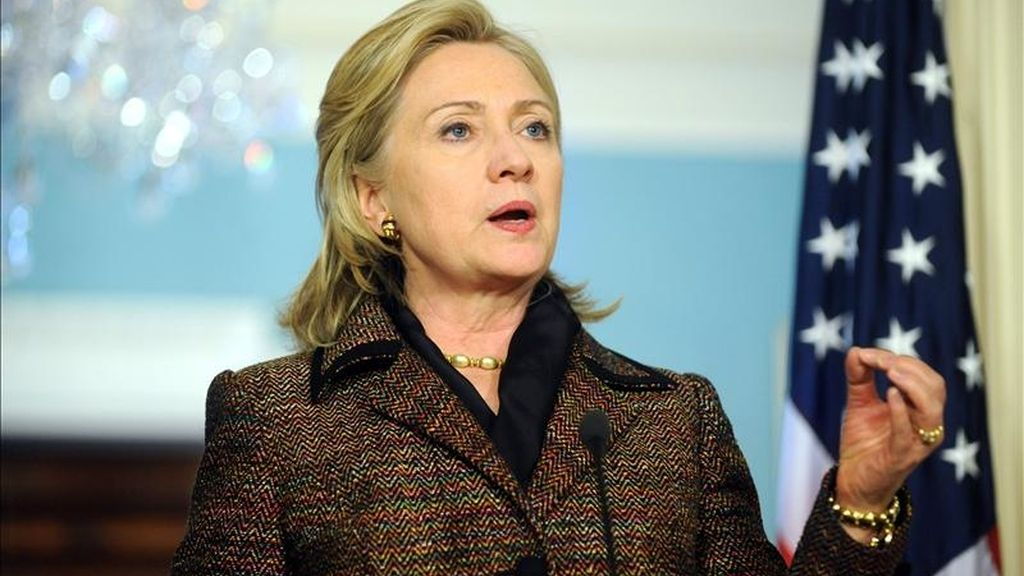 """""""Por primera vez en décadas, hay una oportunidad real para un cambio duradero"""", dijo la secretaria de Estado de EEUU, Hillary Clinton. EFE/Archivo"""