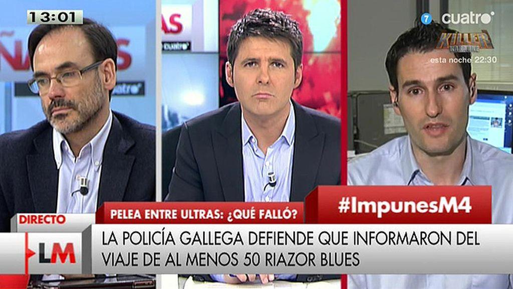 """R. González (SUP): """"Es triste que a estas alturas los policías no tengamos un chaleco"""""""