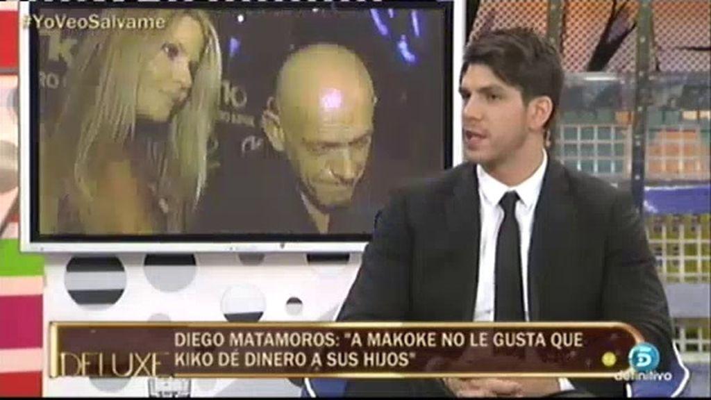 """Diego Matamoros: """"Por culpa de Makoke, mi padre se negó a darme 400€ para estudiar"""""""