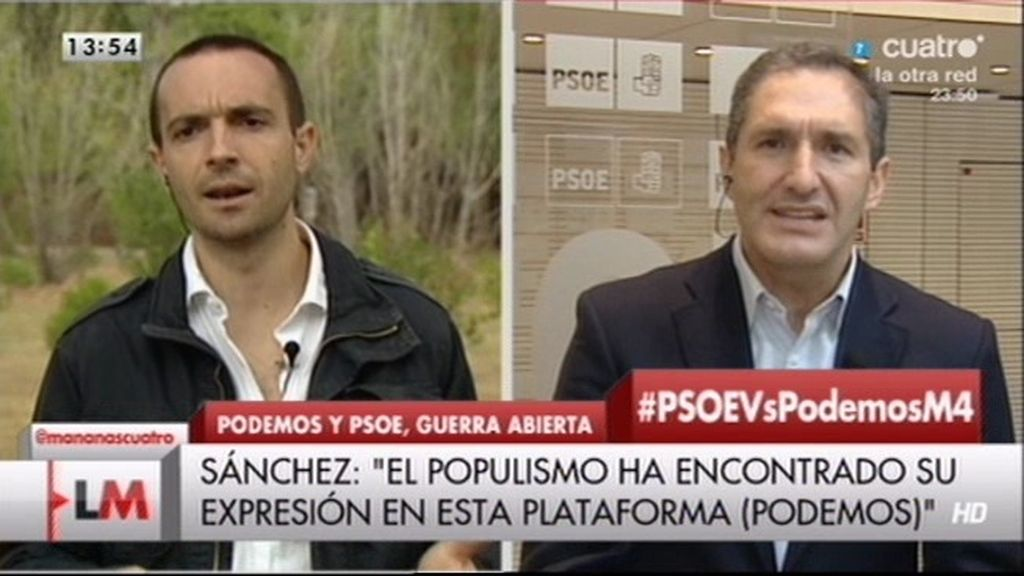 """Cepeda, a Alegre: """"Decir que Podemos es populista no es insultar, es la realidad"""""""