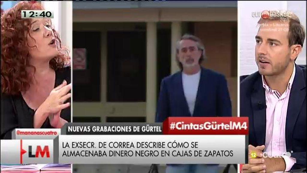 """J. Dorado: """"Hay personas como Correa y vinculados con exaltos cargos del PP que utilizaron las siglas para lucrarse"""""""