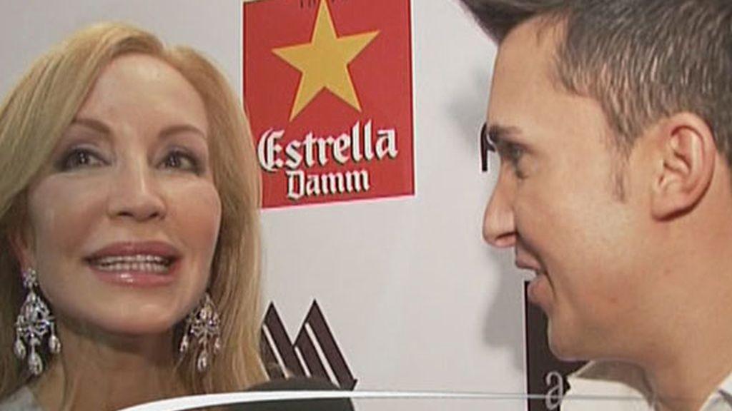 Carmen Lomana, fallera mayor