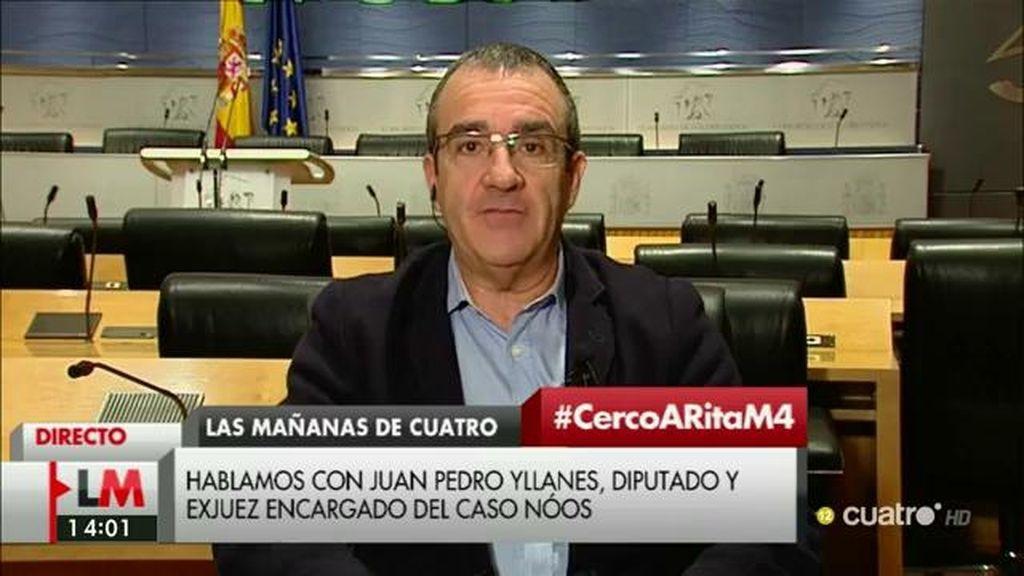 """Juan Pedro Yllanes: """"Es un insulto que se incluya en la diputación permanente del Senado a Rita Barberá"""""""