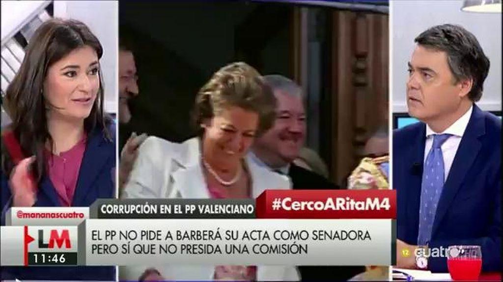 """Carlos Rojas (PP), de Rita Barberá: """"Si es investigada y hay cargos sobre ella se producirá una acción política contundente"""""""