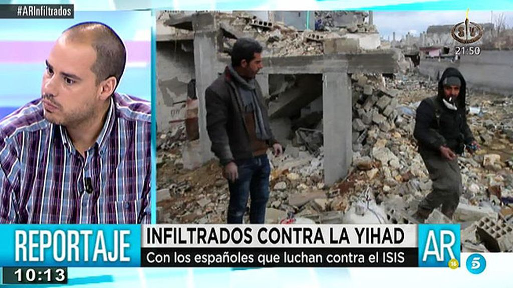 """Antonio, de 'Infiltrados': """"Luchan contra la yihad porque tienen una visión romántica"""""""