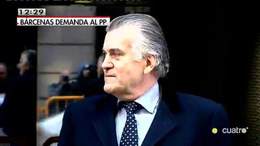 Bárcenas reclama al PP la readmisión o una indemnización de 905.000 euros