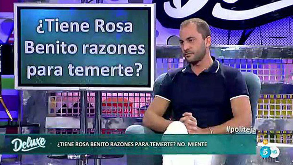 Rosa Benito tiene razones para temer a Antonio Tejado pero, ¿cuáles son?