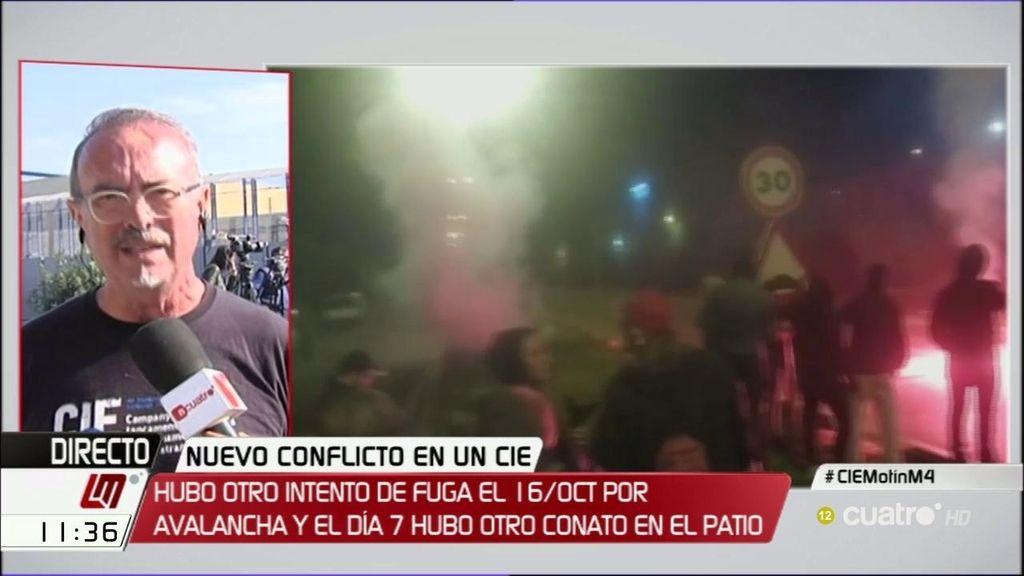 """Xavier Cambra: """"Hay que cerrar los CIE, ni son necesarios ni efectivos"""""""