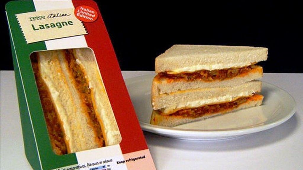 Sandwich de lasaña