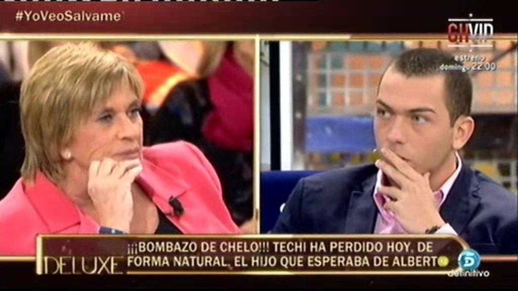 """Chelo, a Alberto Isla: """"Techi ha perdido, de forma natural, el niño que esperaba"""""""
