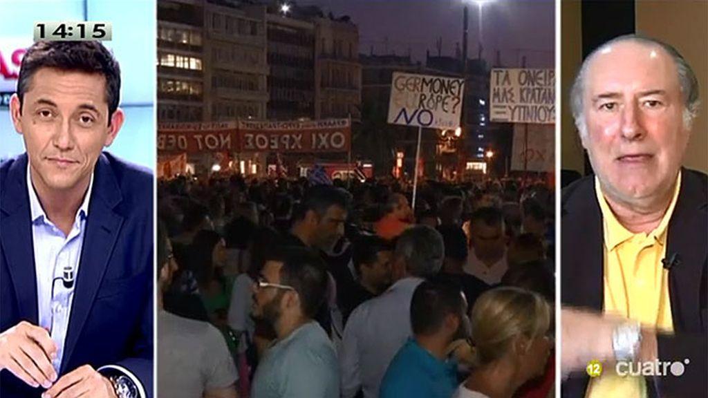 """Gay de Liébana: """"Van a sufrir los griegos"""""""