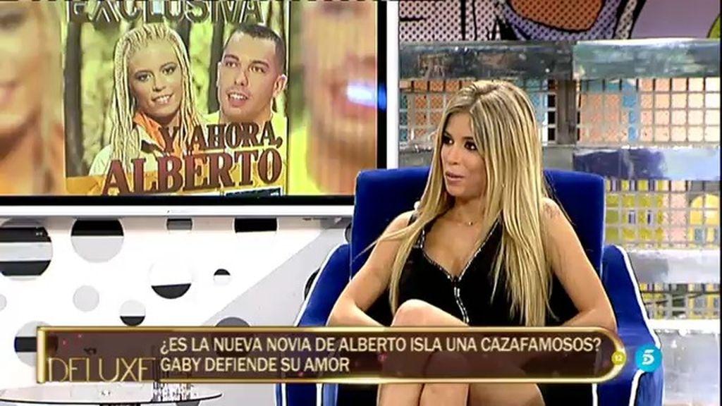 """Gaby, sobre Alberto Isla: """"Es un chico súper detallista, me trata bien y es cariñoso"""""""