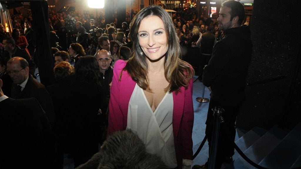 La presentadora de informativos Leticia Iglesias