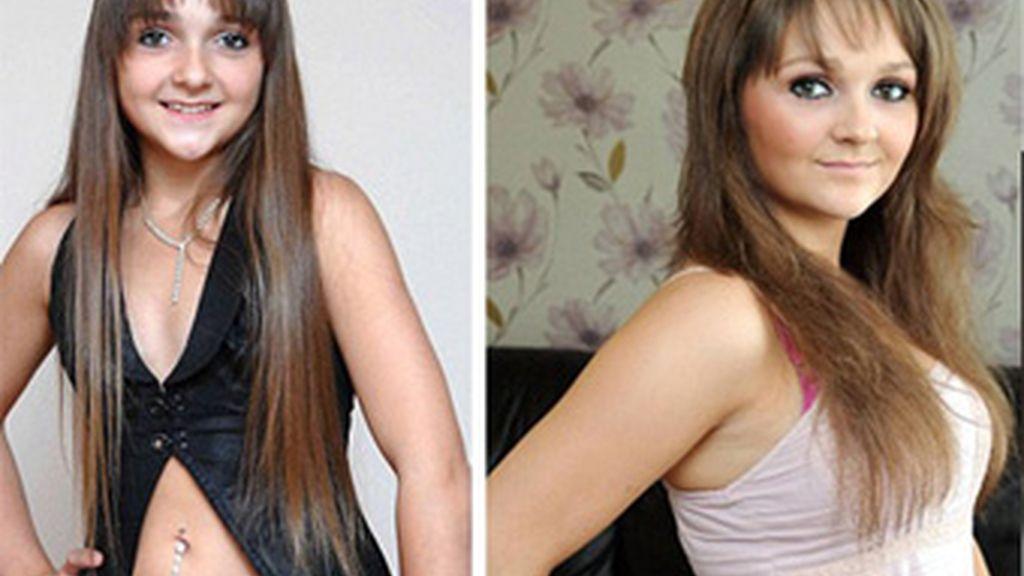 Soya Keaveney ha tenido una niñez y una adolescencia acelerada. Con 12 años era modelo y con 15 está embarazada.