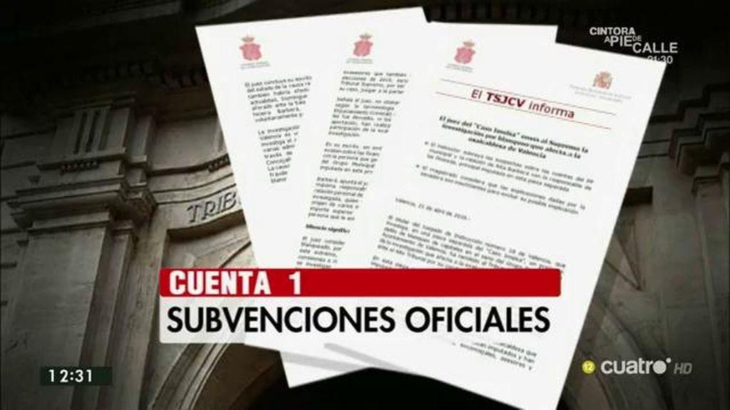 Un asesor investigado desvela una tercera cuenta corriente oculta del PP valenciano