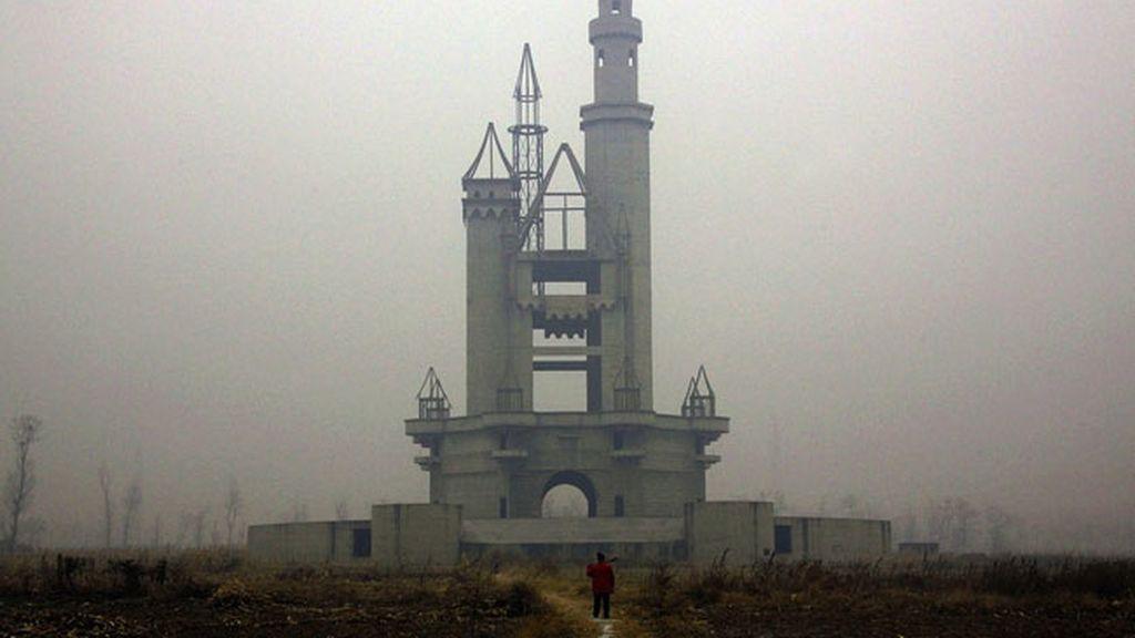 El parque de atracciones abandonado en Beijing, China