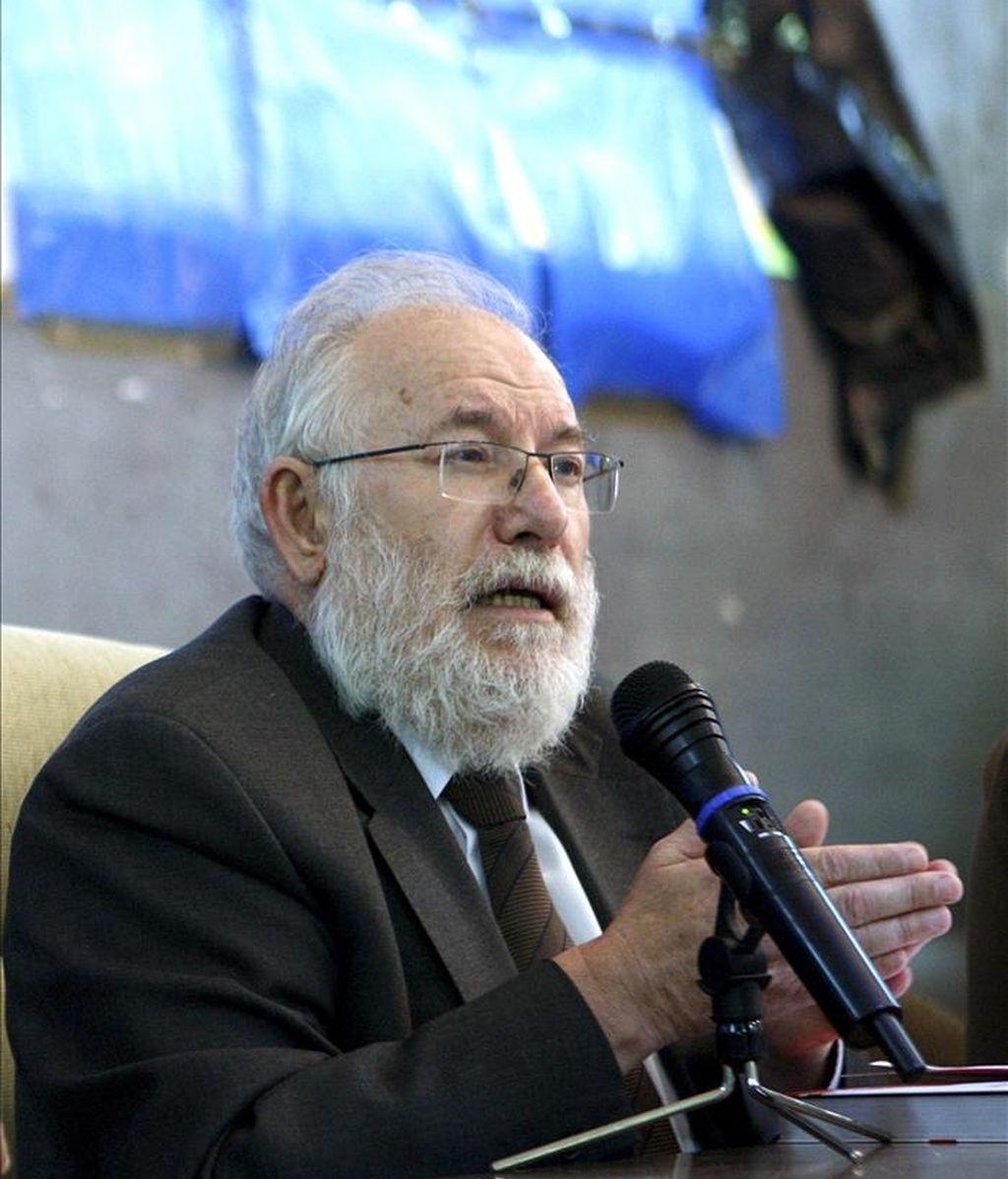 El rector de la Universidad Complutense, Carlos Berzosa. EFE/Archivo