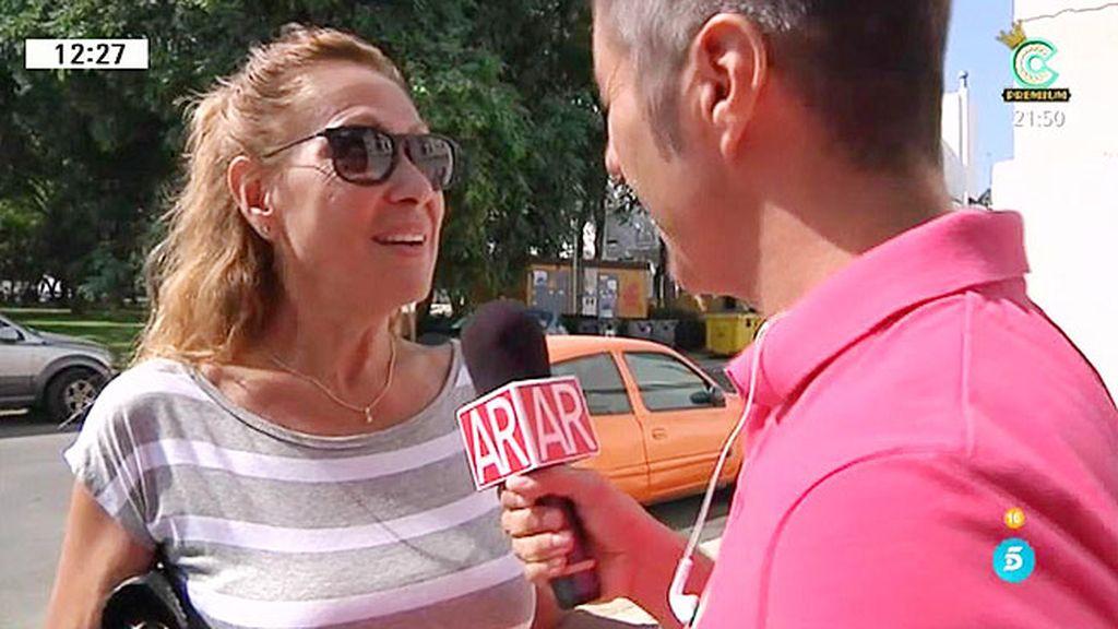 """Rosa Benito: """"Yo no me he visto con Amador"""""""
