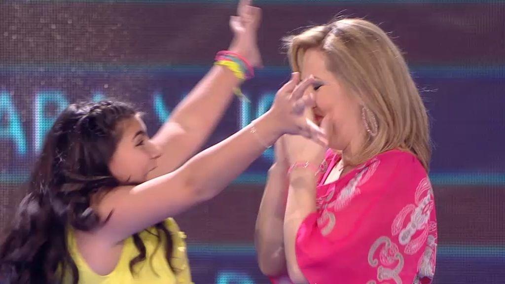 Verónica y Yudit, primeras finalistas de 'Levántate'