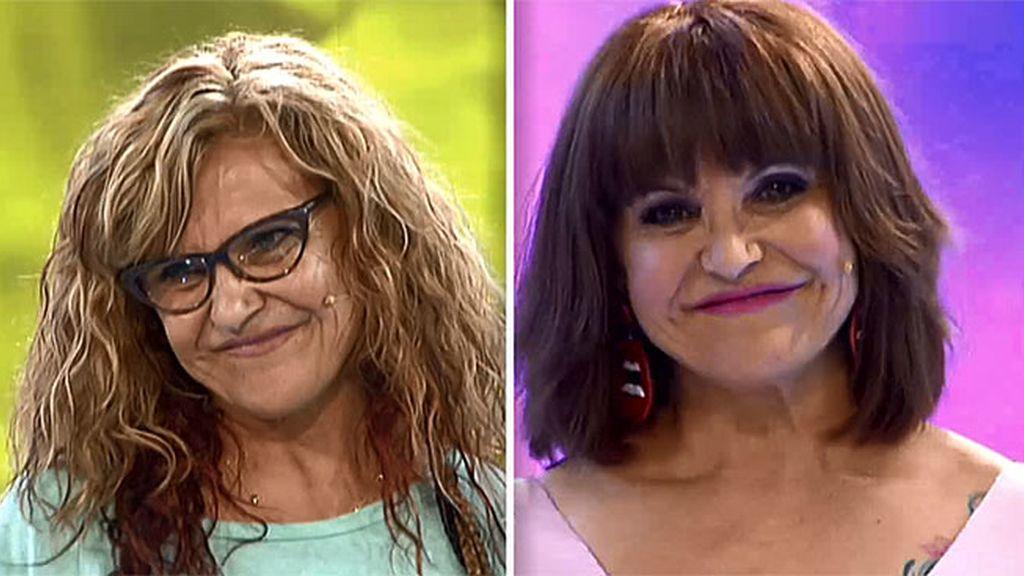 Mari Cruz confiesa por fin su edad real a Pelayo en la pasarela de 'Cámbiame'