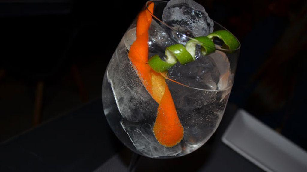 Gin Toni bien preparado