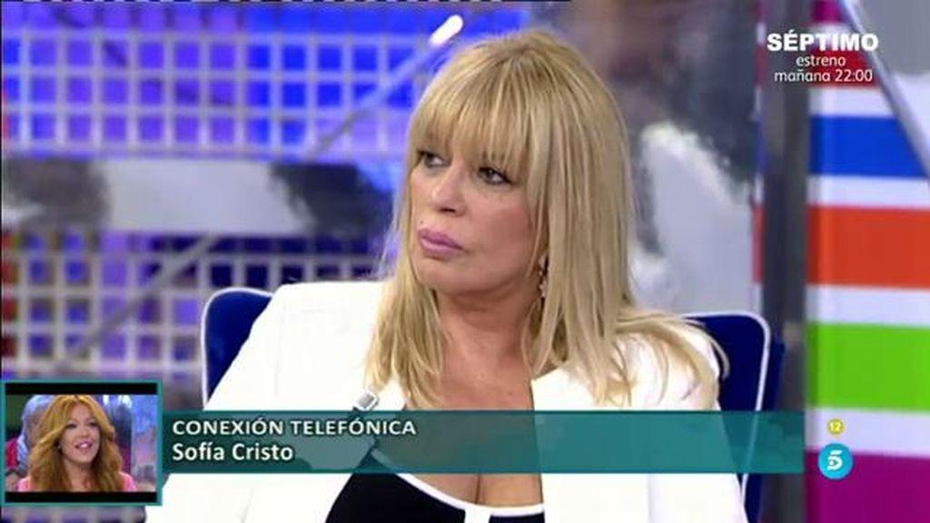 """Sofía Cristo, a Chelo: """"Como amiga eras muy buena, pero como enemiga, la peor"""""""