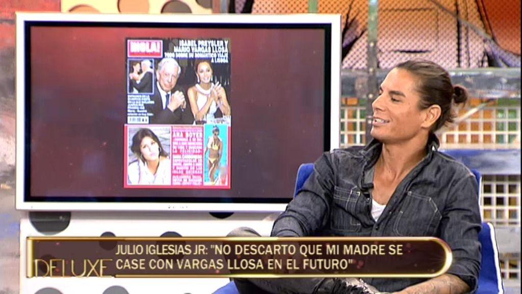 """Julio Iglesias Jr: """"Mi madre no tiene problemas económicos, vive como una reina"""""""