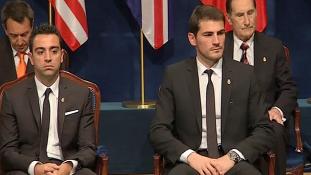 Iker y Xavi esperan el premio