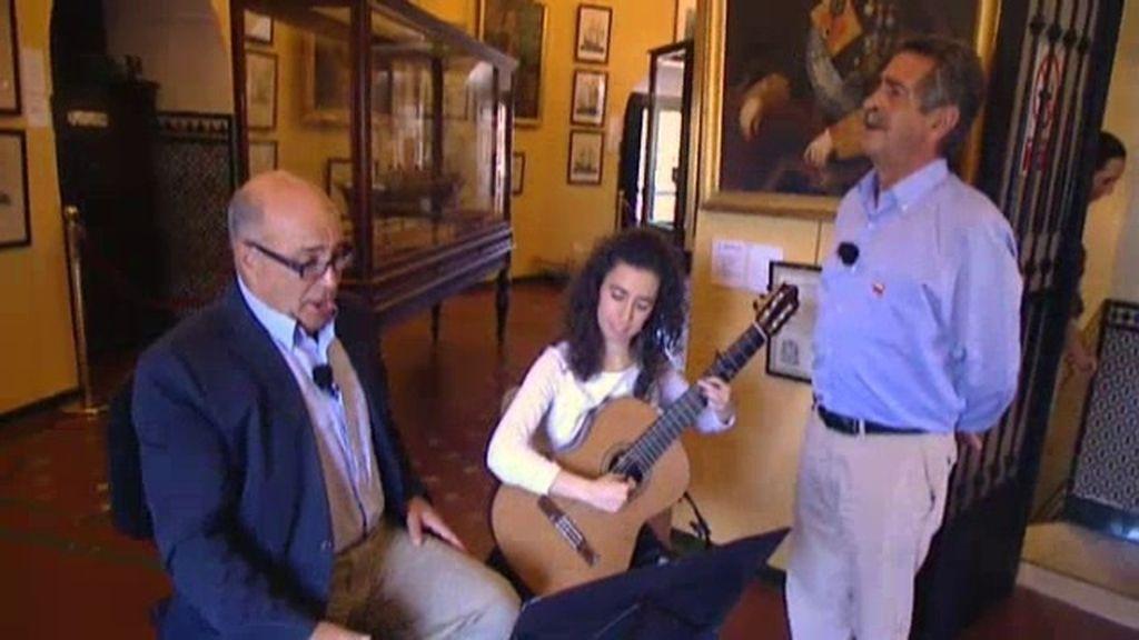 Revilla se emociona con Joaquín Pixán cantando 'Santander, la marinera'