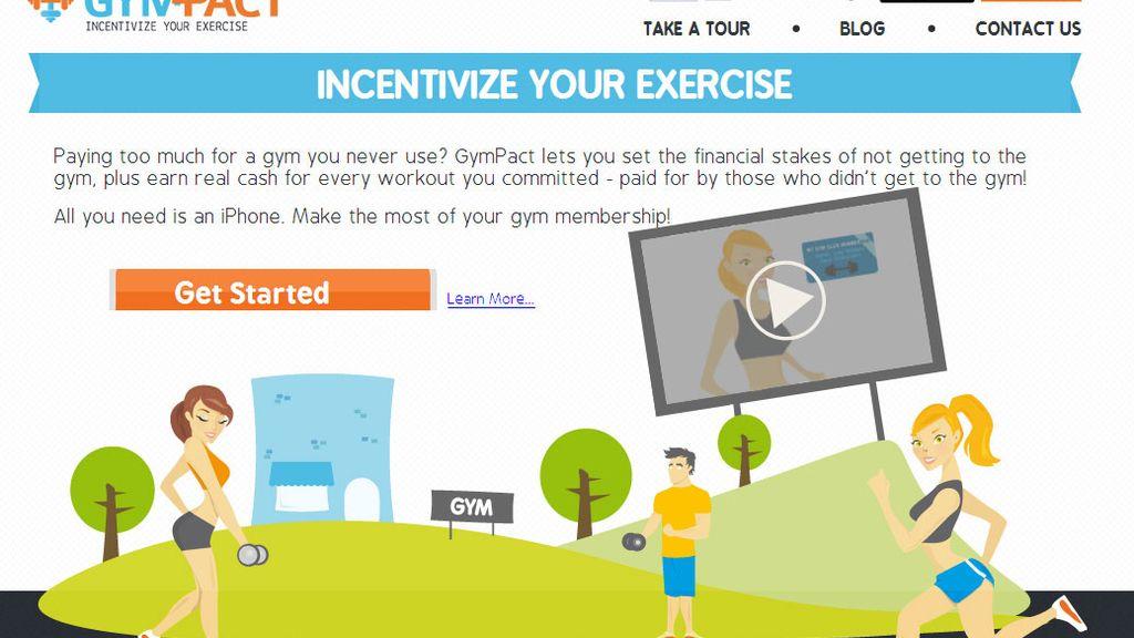 GymPact te paga por ir al gimnasio y te cobra si no vas