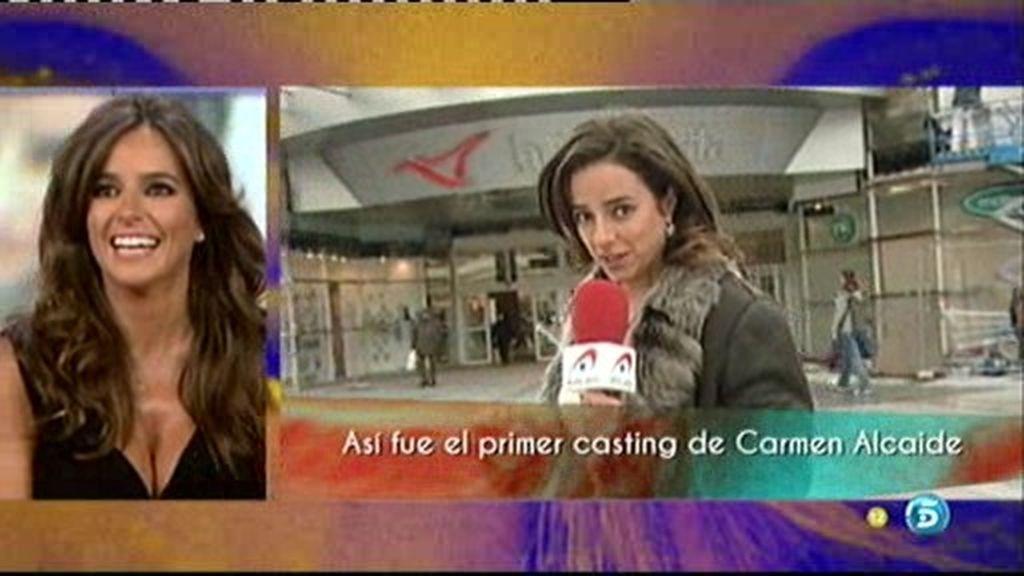 Recordamos cómo fue el casting de Carmen Alcayde para 'Aquí hay tomate'