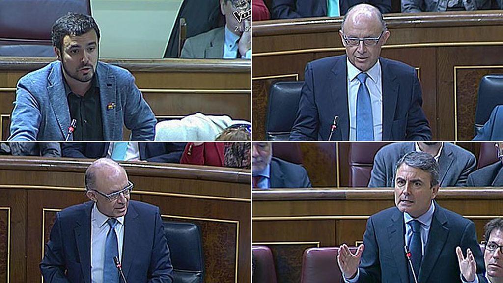"""Garzón, a Montoro: """"El caso de Alí Babá y los 40 ladrones se nos queda corto"""""""