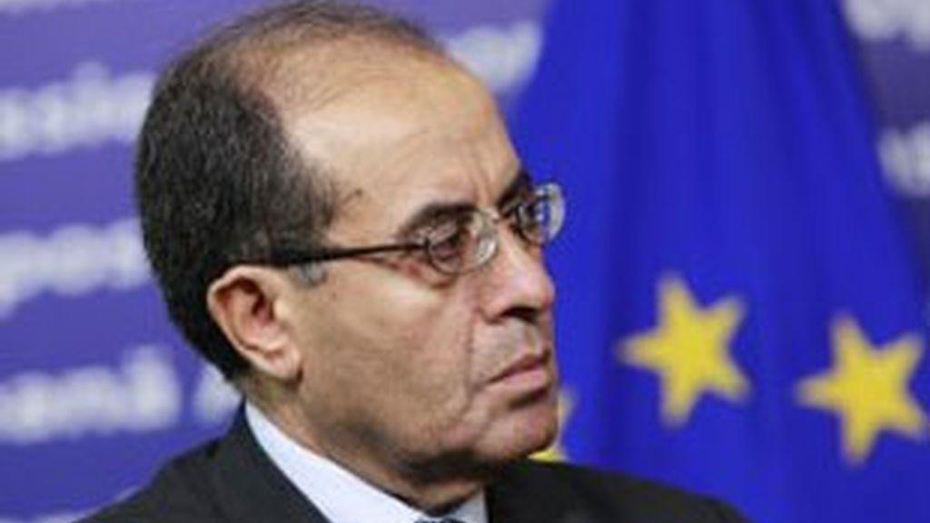 Imagen de archivo del primer ministro del Consejo Nacional de Transición (CNT), Mahmoud Jibril. Foto: EFE.