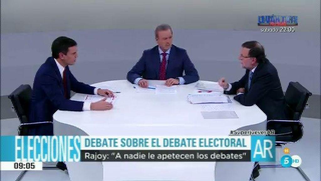 """Rajoy: """"A nadie le apetecen los debates, suponen una gran responsabilidad"""""""
