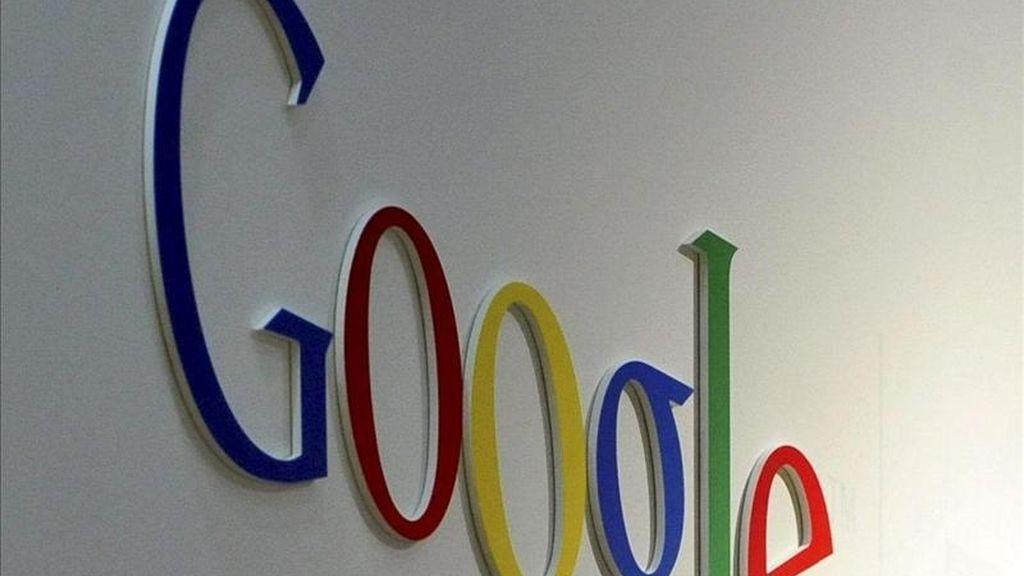 """Google informó que los costes por """"clic"""" en los anuncios subieron un 8 por ciento con respecto al mismo trimestre de 2010, aunque cayeron un 1 por ciento con relación al período comprendido entre octubre y diciembre. EFE/Archivo"""