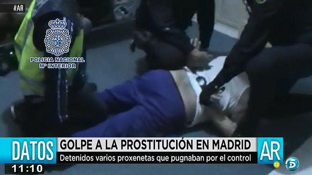 Detienen a los proxenetas que pugnaban por el control de la prostución en Madrid