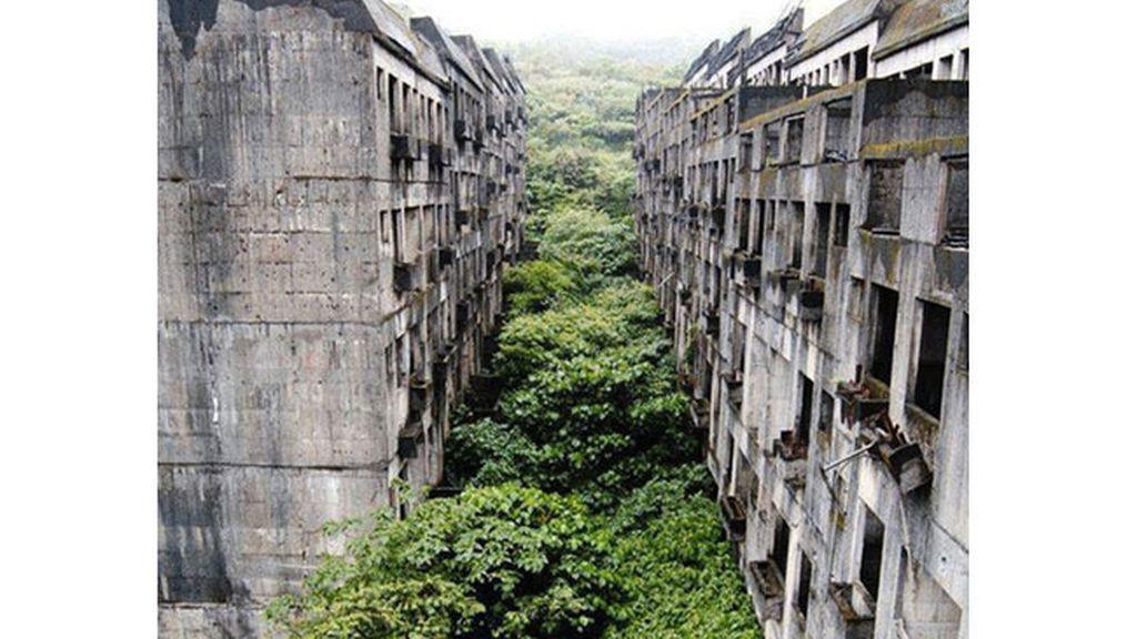 Ciudad abandonada de Keelung en Taiwán