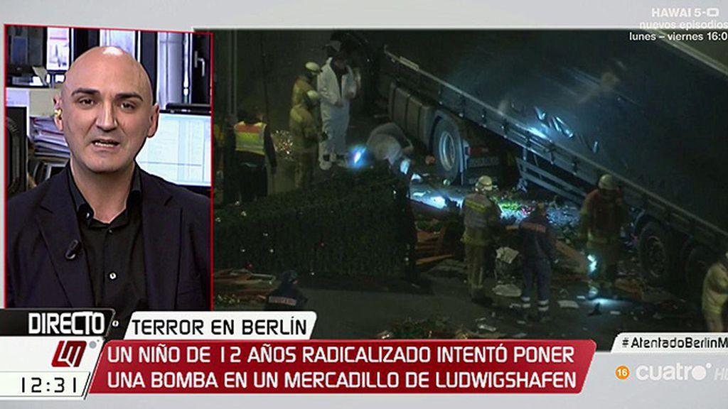 """S. Giraldo: """"Tenemos que preguntarnos qué ha hecho que dos personas se suban en un camión y provoquen esta matanza"""""""