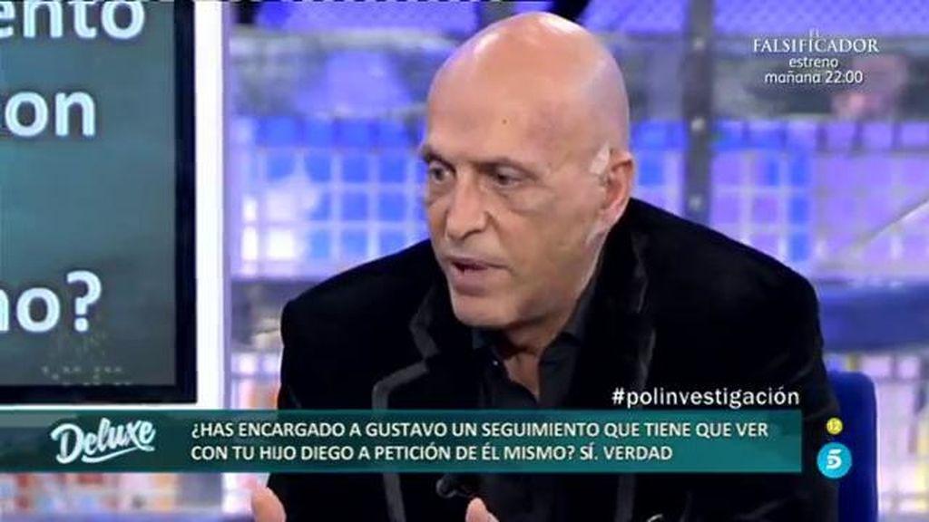 Matamoros encargó un seguimiento a Gustavo a petición de su hijo Diego