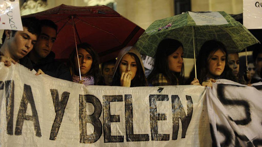 Familiares y amigos recuerdan a las cuatro víctimas de la tragedia de Madrid Arena