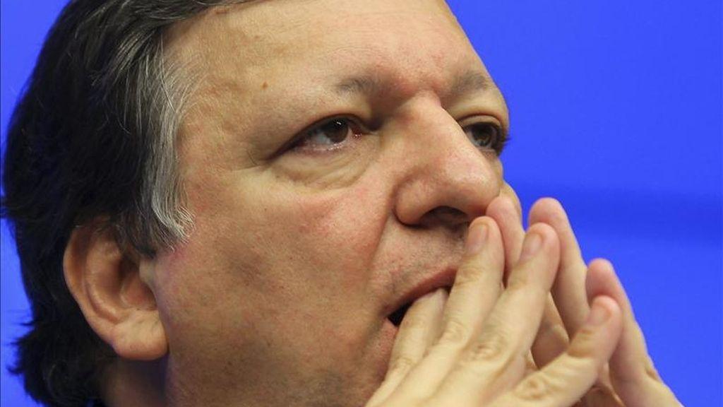 El presidente de la Comisión Europea, el portugués José Manuel Durao Barroso. EFE/Archivo