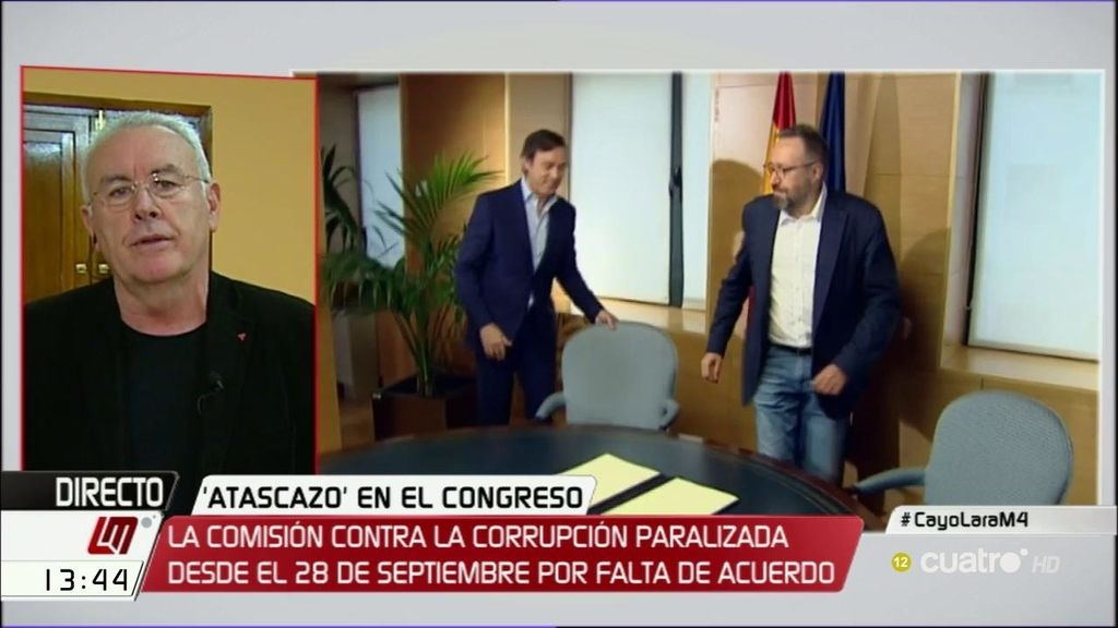 """Cayo Lara: """"El PP no está dispuesto a facilitar que haya comisiones de investigación"""""""