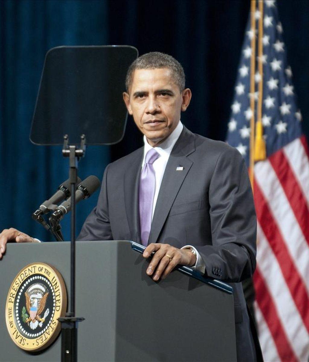 """El presidente estadounidense, Barack Obama, indicó que el fin del mandato de Gbagbo representa """"una victoria para la voluntad democrática de los costa marfileños"""". EFE/Archivo"""