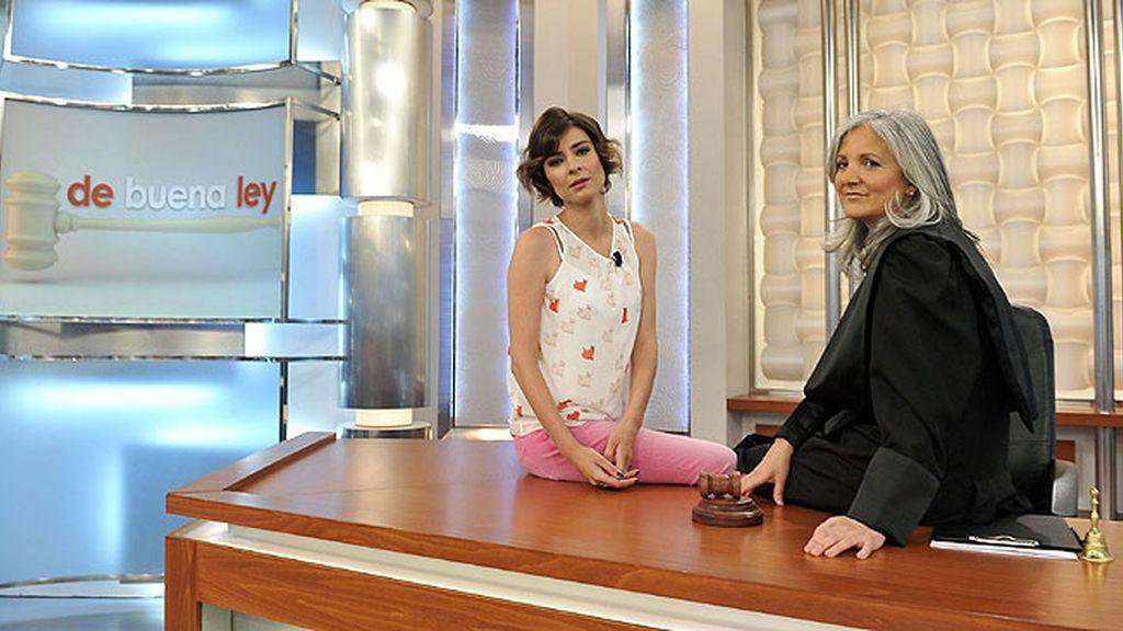 Mª José Sánchez Cuervo y Sandra Barneda