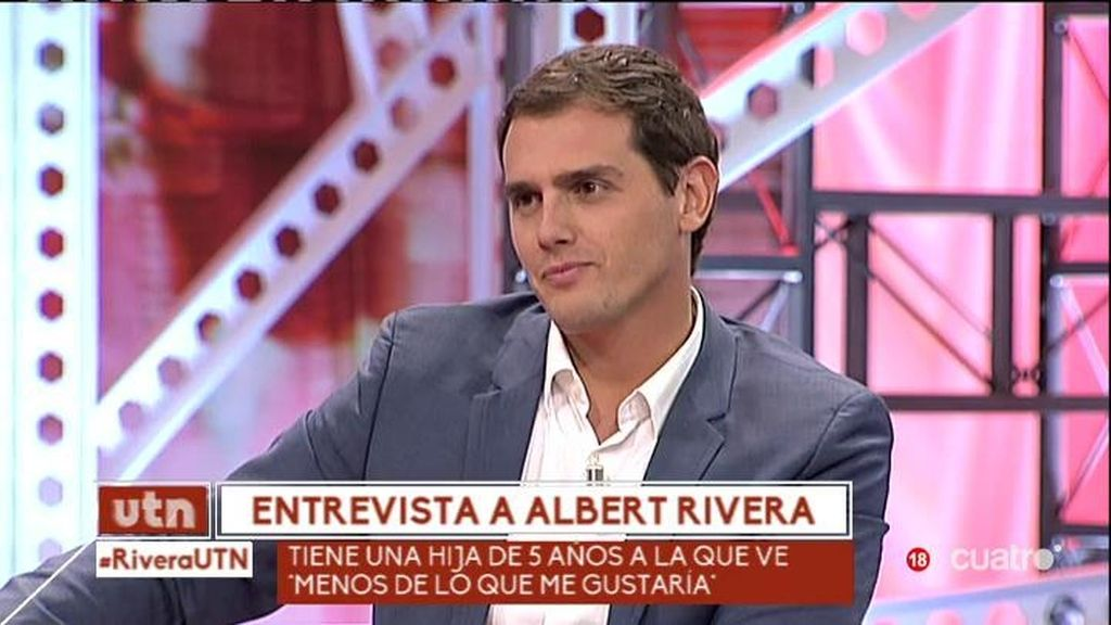 """Rivera: """"No quiero ser presidente del gobierno, si Cataluña no forma parte de España"""""""