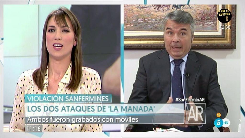 """Agustín Martínez: """"Los mensajes de 'la manada' están fuera de contexto"""""""