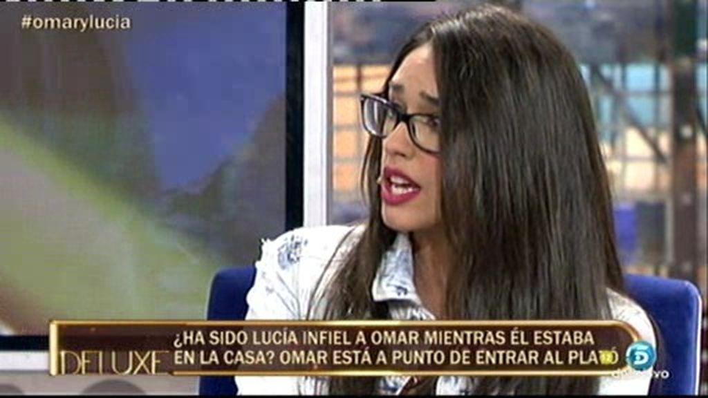 "Lucía: ""Nos veremos en un juzgado si Frigenti vuelve a decir que estuve con un policía"""