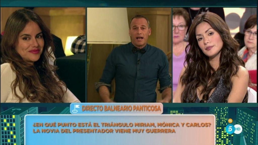 """Carlos Lozano: """"Me gustaría que Miriam y Mónica se llevaran bien por mi hijo"""""""